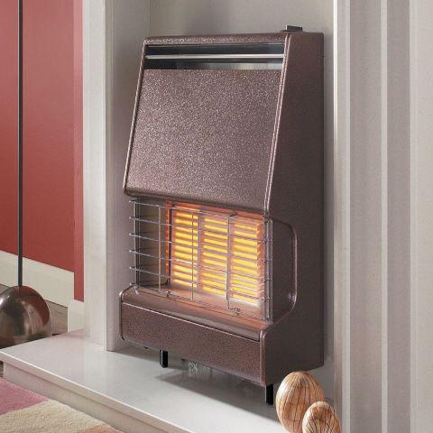 Firenza Outset Gas Fire - Firenza Outset Gas Fire - Bronze