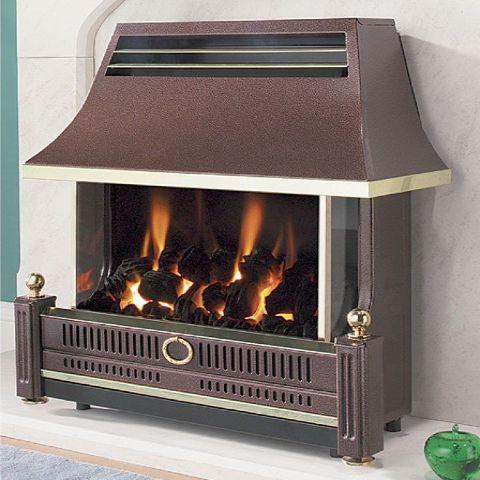 Renoir Gas Fire - Renoir Gas Fire - Bronze
