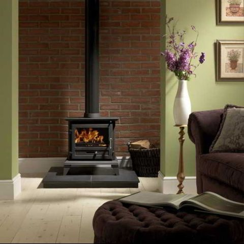 The Gallery Collection - Firefox Classic 8 Clean Burn Stove -