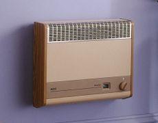Brazilia F8S Gas Wall Heater - Beige & Oak