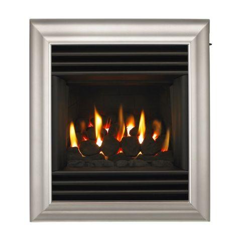 Harmony Full Depth Homeflame Gas Fire - Harmony Full Depth Homeflame - Silver